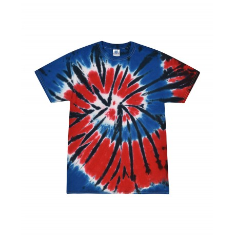 T1000Y Colortone T1000Y Youth Tie Dye Tee INDEPENDENCE