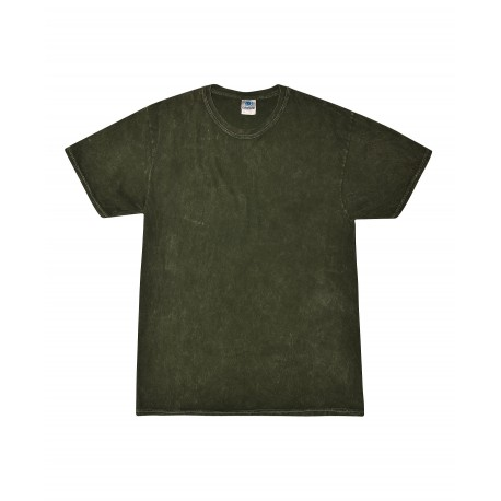 T1300 Colortone T1300 Adult Mineral Wash Tee Mineral Forest