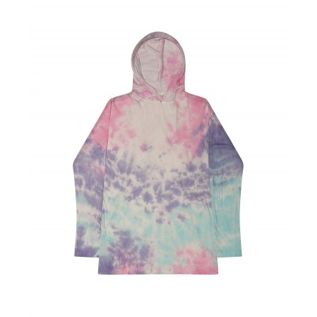 T2777 Colortone T2777 Long Sleeve Hoodie Cotton Candy