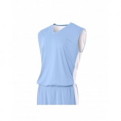 A4 A4NB2320 Youth Reversible Side Stripe Sleeveless Jersey