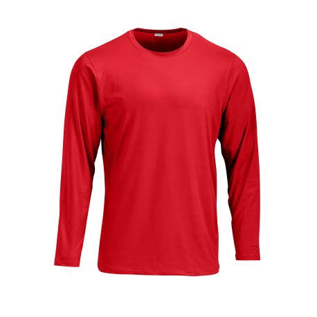 SM0222 Paragon SM0222 ParagonXP Aruba Adult Ultimate Wicking Long Sleeve Performance Tee RED