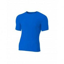 A4 A4NB3130 Youth Short Sleeve Compression Crew