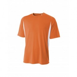 A4 A4NB3181 Youth Cooling Performance Color Block Tee