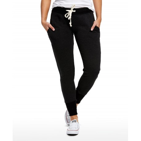 US0871 US Blanks US0871 Ladies French Terry Fleece Pant Tri-Charcoal