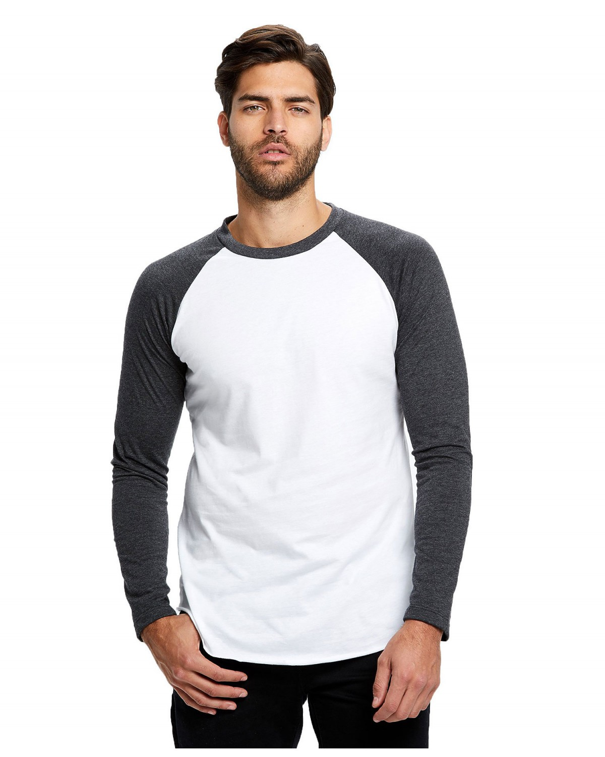 US6600 US Blanks WHITE/CHARCOAL