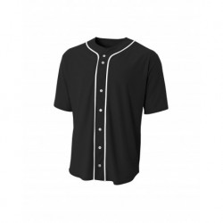 A4 A4NB4184 Youth Full Button Baseball Top