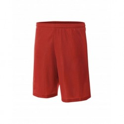 """A4 A4NB5184 Youth Lined Micro Mesh 6"""" Short"""
