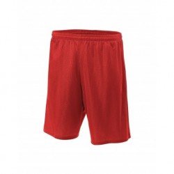 """A4 A4NB5301 Youth 6"""" Lined Tricot Mesh Short"""