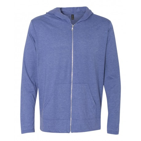 IND400 Independent Trading Company IND400 Adult Heavyweight Pullover Hooded Fleece LIGHT PINK