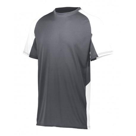 JS900433 Joma Sport JS900433 Ladies' Silver Short Sleeve Perfomance Tee BLACK
