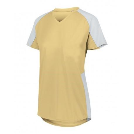 LA1610 LAT Apparel LA1610 Junior Sublimation Polyester Tee WHITE
