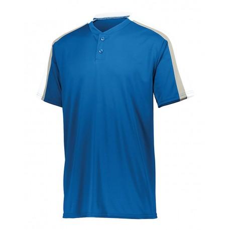 LA3530 LAT Apparel LA3530 Ladies' Baseball Fine Jersey Tee BLACK/WHITE