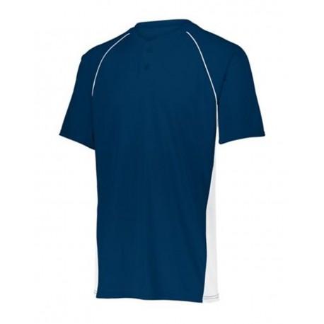 LA3537 LAT Apparel LA3537 Ladies' Football V-Neck Fine Jersey Tee BLACK/WHITE