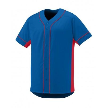 LA3830 LAT Apparel LA3830 Ladies' Curvy Baseball Premium Jersey Tee BLACK/WHITE