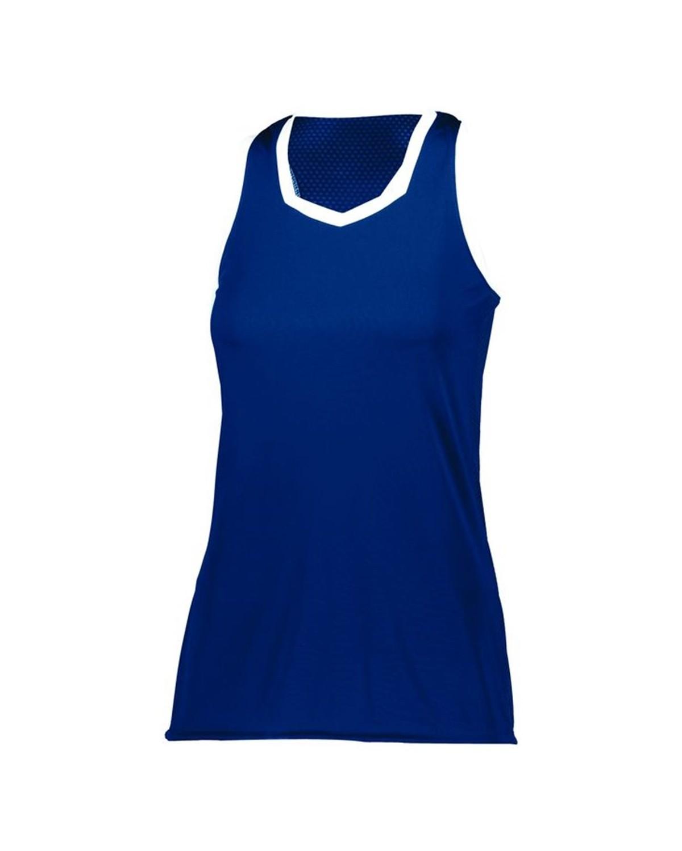 LA6130 LAT Apparel Carolina Blue/Vintage Heather