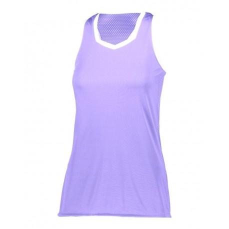 LA6130 LAT Apparel LA6130 Youth Baseball Fine Jersey Tee Vintage Heather/Purple