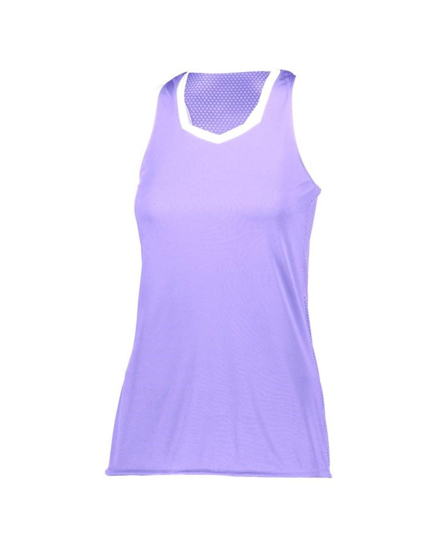 LA6130 LAT Apparel Vintage Heather/Purple