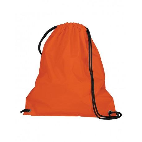 LB1500 Liberty Bags LB1500 Shopping Bag with Drawstring BLACK