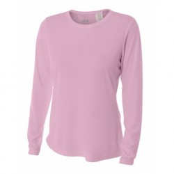 A4 A4NW3002 Ladies' Cooling Performance Long Sleeve Tee
