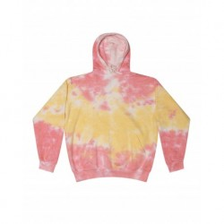 Colortone T8777 Adult Tie Dye Hooded Pullover