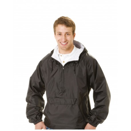 QP401 Q-Tees QP401 Hooded Pullover Jacket NAVY