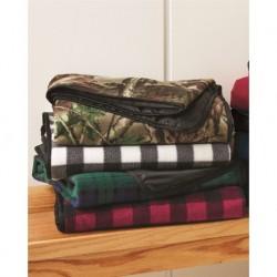 Alpine Fleece 8702 Polyester/Nylon Patterned Picnic Blanket