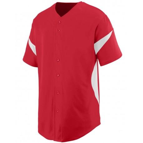 1650 Augusta Sportswear 1650 Wheel House Jersey ROYAL/ WHITE