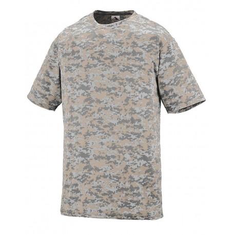1799 Augusta Sportswear 1799 Youth Digi Camo Wicking T-Shirt NAVY DIGI