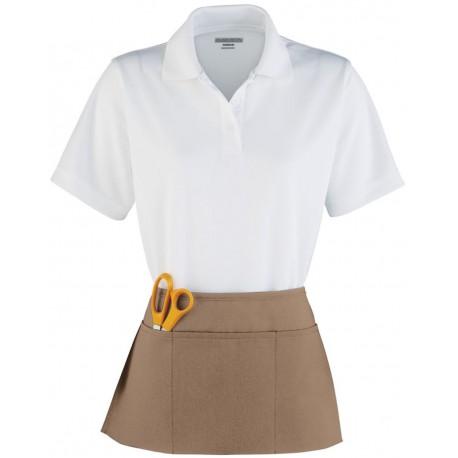 2115 Augusta Sportswear 2115 Waist Apron WHITE