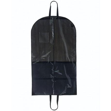 2203 Augusta Sportswear 2203 Clear Garment Bag Clear/ Black