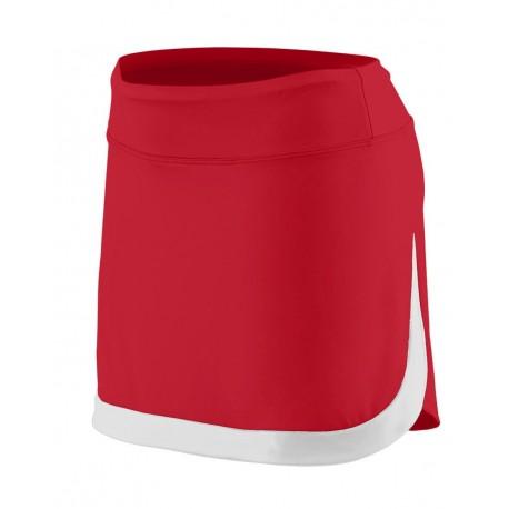 2410 Augusta Sportswear 2410 Women's Action Color Block Skort ROYAL/ WHITE