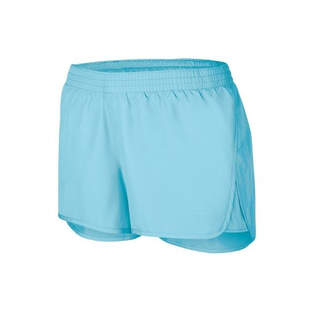 2431 Augusta Sportswear 2431 Girls' Wayfarer Shorts RED
