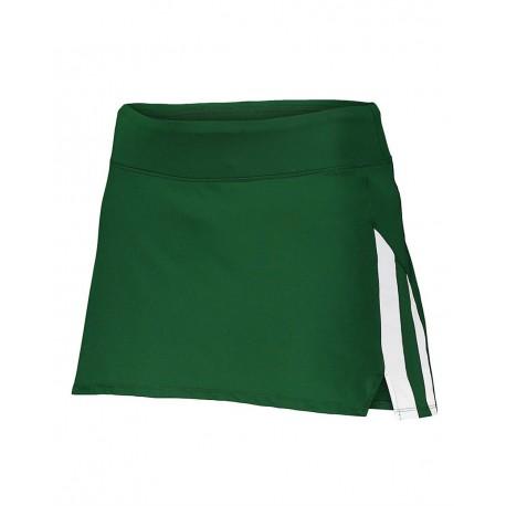 2440 Augusta Sportswear 2440 Women's Full Force Skort RED/ WHITE