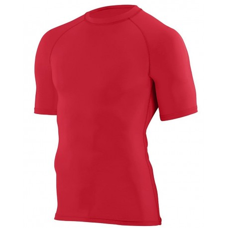 2600 Augusta Sportswear 2600 Hyperform Compression Short Sleeve Shirt NAVY