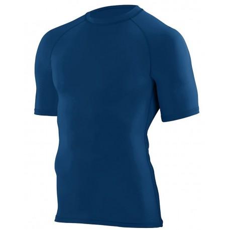 2601 Augusta Sportswear 2601 Youth Hyperform Compression Short Sleeve Shirt ROYAL