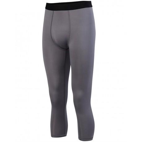 2618 Augusta Sportswear 2618 Hyperform Compression Calf-Length Tight WHITE