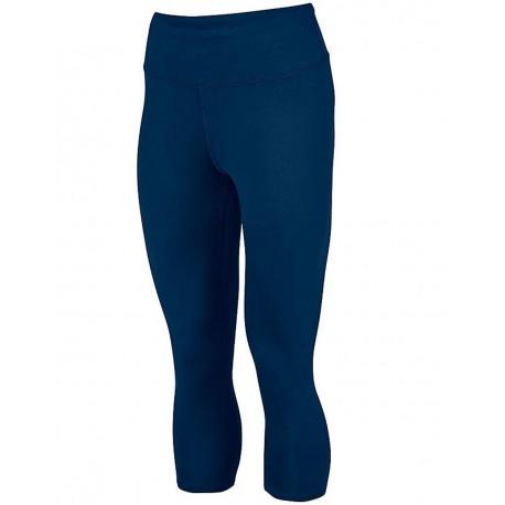 2628 Augusta Sportswear 2628 Women's Hyperform Compression Capri NAVY