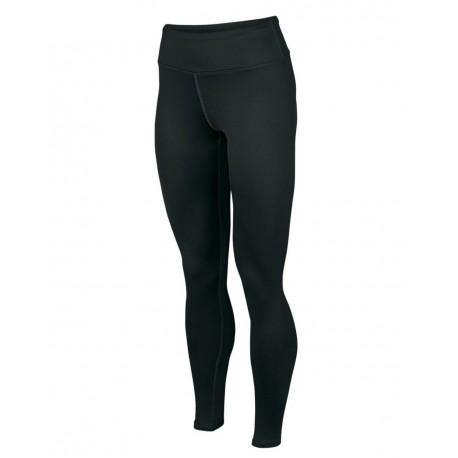 2630 Augusta Sportswear 2630 Women's Hyperform Compression Tight BLACK