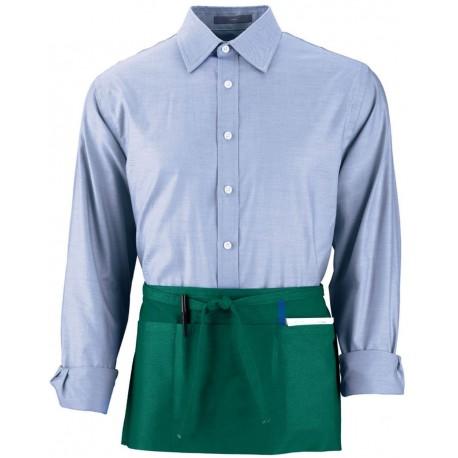 2700 Augusta Sportswear 2700 Cafe Waist Apron DARK GREEN