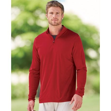 2785 Augusta Sportswear 2785 Attain Color Secure Performance Quarter-Zip Pullover ORANGE