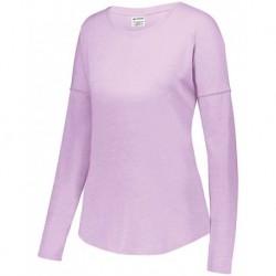 Augusta Sportswear 3077 Women's Lux Triblend Long Sleeve T-Shirt
