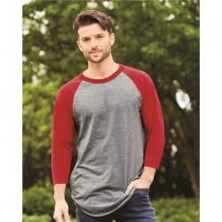 Augusta Sportswear 4420 Three-Quarter Raglan Sleeve Baseball Jersey