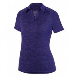 Augusta Sportswear 5409 Women's Intensify Black Heather Sport Shirt
