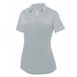 Augusta Sportswear 5413 Women's Shadow Tonal Heather Sport Shirt