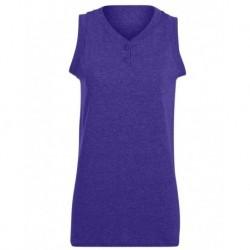 Augusta Sportswear 550 Women's Sleeveless Two Button Softball Jersey