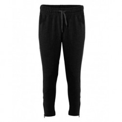 Badger 1071 FitFlex Women's French Terry Ankle Pants