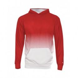 Badger 2404 Youth Hex 2.0 Hooded Sweatshirt