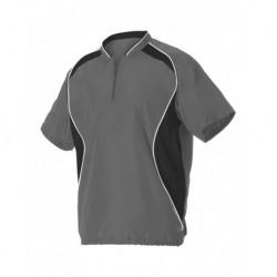 Badger 3JSS13A Short Sleeve Baseball Batters Jacket
