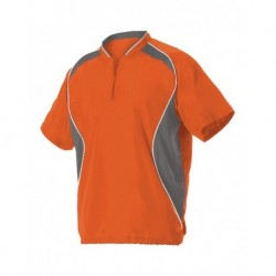 Badger 3JSS13Y Youth Short Sleeve Baseball Batters Jacket