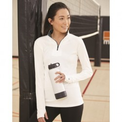 Badger 4103 Women's B-Core Quarter-Zip Pullover